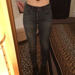 Citizens of humanity high rise skinny jeans 24